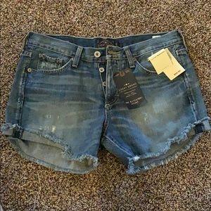 Lucky Brand Boyfriend Shorts!!!
